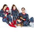Рождество Семья Соответствующие Наряды Xmas Взрослых Пижамы Комплект Милый Праздничные Дети Пижамы Мультфильм для Малышей Пижамы