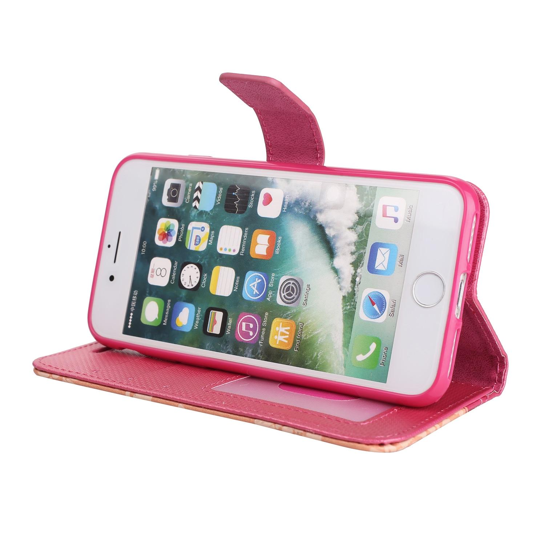 Флип отточить Чехлы для мангала для Apple IPhone 5 5S SE 6 6 S 7 8 чехол ювелирное Винтаж PU Телефонные Чехлы для iPhone 6 6 S 7 8 плюс 7 плюс Чехол 5