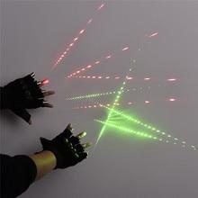 Red Green Laser Gloves