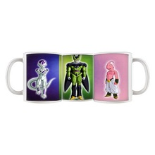 Frieza mugs cell bubu mugs dbz dragon ball z coffee mug porcelain printing Tea Cups cup home decal kid cup birthday gifts kids