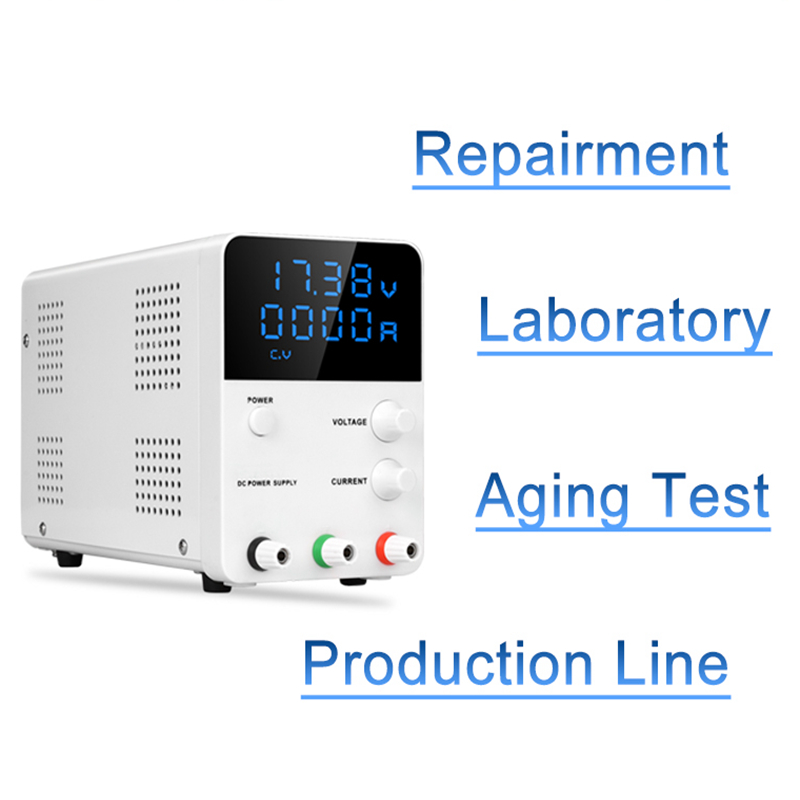 Mini Digital Switch dc power supply Laboratory 30V 60V 5A Voltage Regulator Power Source Adjustable Lab Bench dc Power Supply