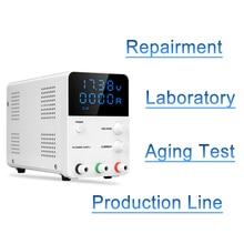 Mini Numérique Interrupteur dc alimentation Laboratoire 30 V 60 V 5A régulateur de tension Source D'alimentation Réglable banc de laboratoire dc alimentation