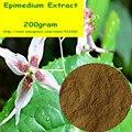 200 gram Horny Goat Weed (Epimedium) Выписка 60% Icariins Порошок бесплатная доставка