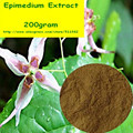 200 gramas Horny Goat Weed (Epimedium) Extrato Icariins 60% Pó frete grátis