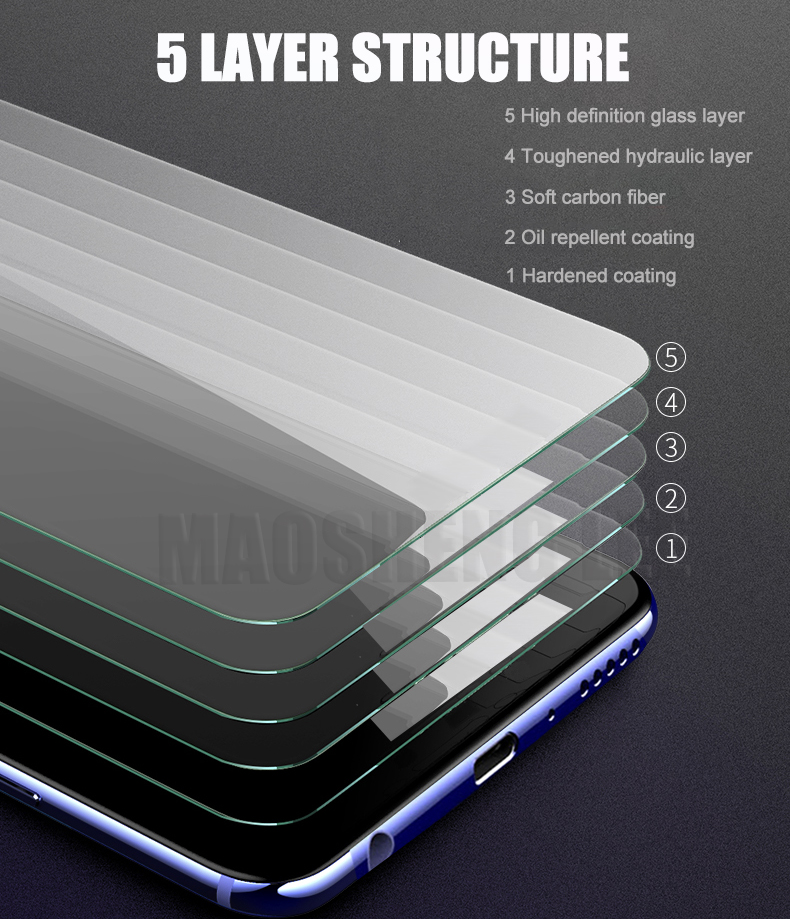 Image 5 - 2Pcs/lot Tempered Glass For Xiaomi Mi 9 SE Mi9 Pro Glass Screen Protector Anti Blu ray Glass For Xiaomi mi 9 se Protective film-in Phone Screen Protectors from Cellphones & Telecommunications