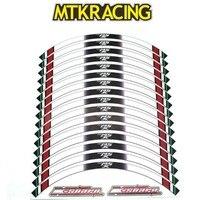 MTKRACING k sharp 16 X Thick Edge Outer Rim Sticker Stripe Decals for HONDA MSX 125