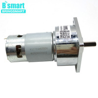 Bringsmart 60GA775 High Torque 12v DC Motor 12Volt And 24Volt Gear Motor With Accurate Ball Bearing Reductor Motor Small
