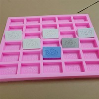 Food Grade Custom Chocolate Mold 30 Cavities Customized Silicone Mold for Chocolate Cake Fondant Making