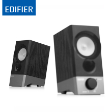 EDIFIER R19U Speaker Mini Portable Small Elevation Design Beautiful Bass Stress Computer High Quality Studio Monitor