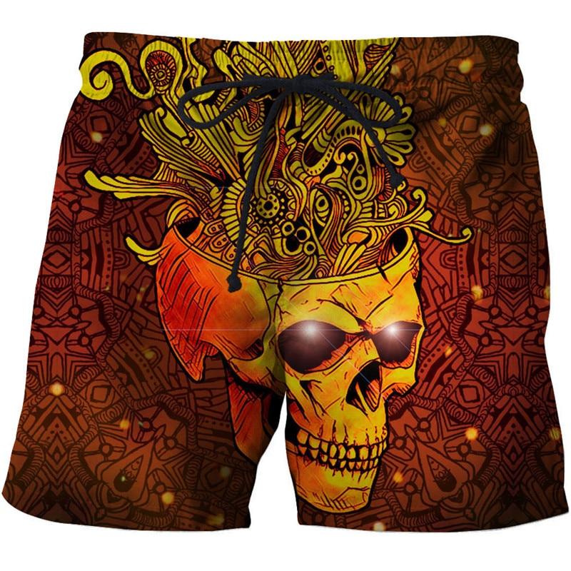 Crazy Anime 3d Printed Beach Shorts Men Casual Board Shorts Plage Quick Dry Shorts Swimwear Streetwear 8xl Dropship Zootop Bear Men's Clothing