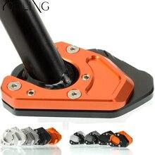 Подставки колодки мотоцикл пластина для подножки Pad Non-slip боковая стойка для KTM DUKE RC 125 200 390 2013