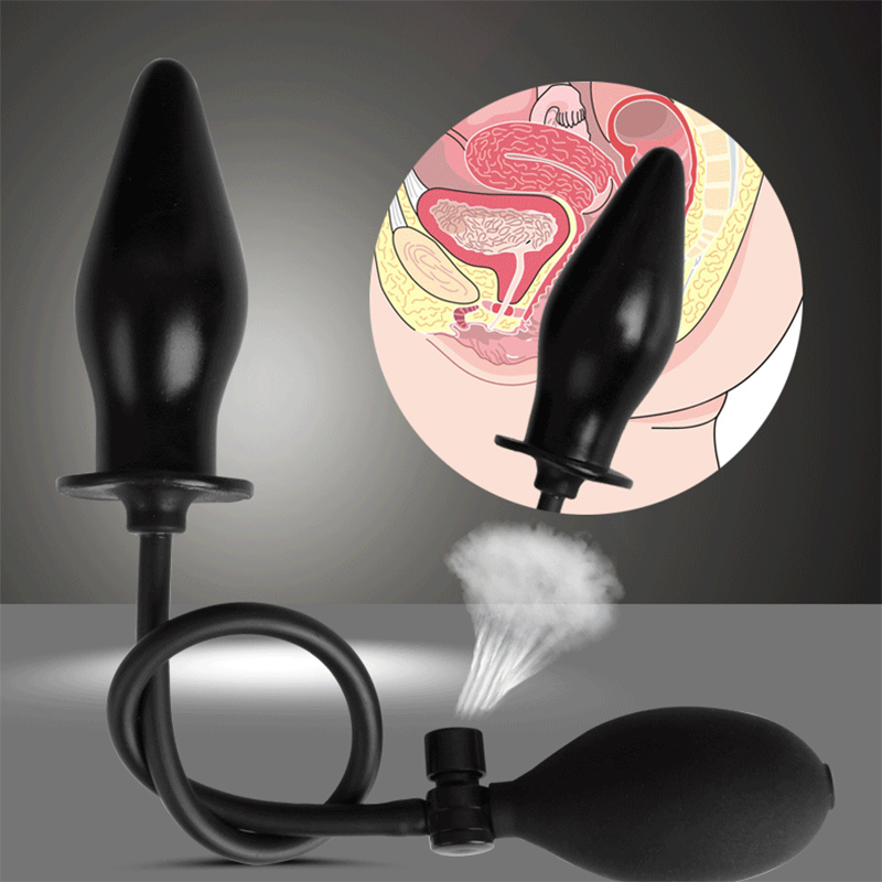 Inflatable toys anal