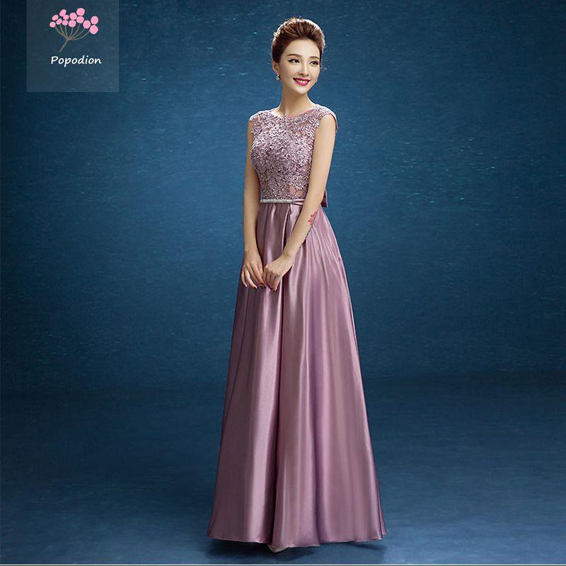 Formale schwester kleider kleider brautjungfer kleid lange partei ...