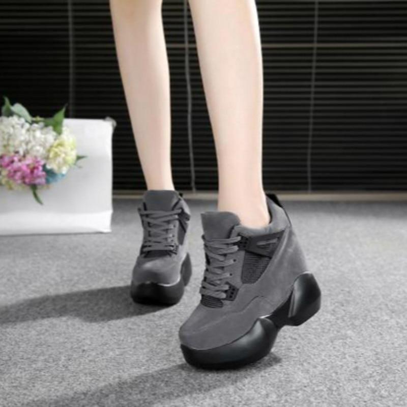 Г., Весенняя женская модная повседневная обувь на платформе женские кроссовки на толстой подошве, белые туфли дышащие женские парусиновые туфли на танкетке