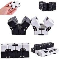 Fidget Cube Hot Spin Magic Cube Blocks Decompression Stress Relief Fidget Anti Anxiety Stress For