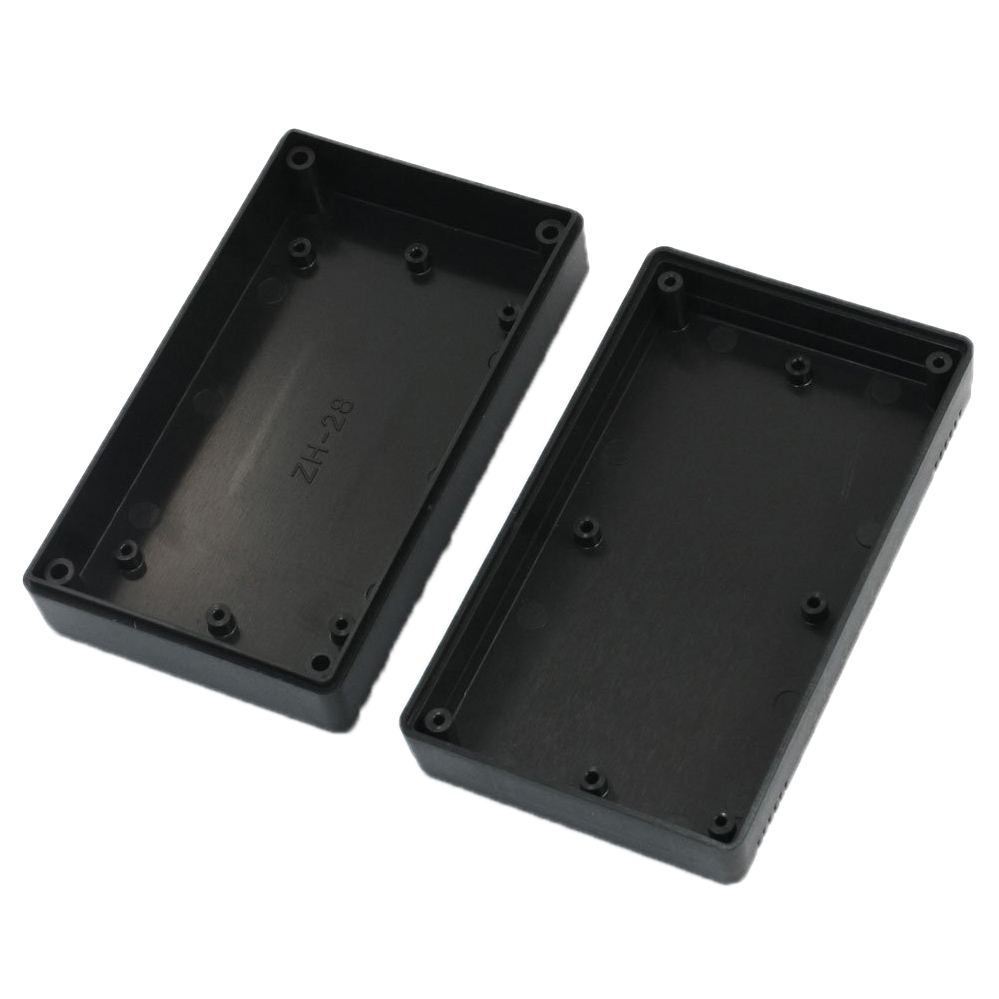 High Quality Black Plastic Project Power Protective Case Junction Box 116x68x36mm