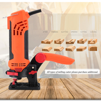 Handheld Woodworking Trimming Machine Eectric Power Tool DIY Renovator Edge Banding Machine Slot Forming Carving Trimmer MK 650D