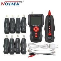 Оригинальный Noyafa NF 8601W RJ45 для BNC PING RJ11 телефон Диагностика тон детектор линии для проверки витой пары, телефонной проводки сети LAN Кабельный т