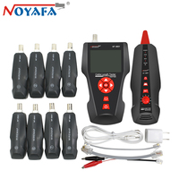 Original Noyafa NF 8601W RJ45 for BNC PING POE RJ11 Telephone Diagnose Tone Detector Line Wire Tracker LAN Network Cable Tester