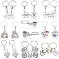 2 Pcs/Set Puzzle You're My Person Couple Keychain For Lovers You Are My Person Key Chain Ring Holder Best Friends llaveros