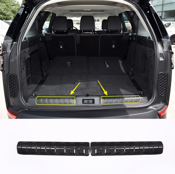 Car Inner Rear Door Threshold Bumper Protector Sill Scuff Plate For Land Rover Discovery 5 LR5