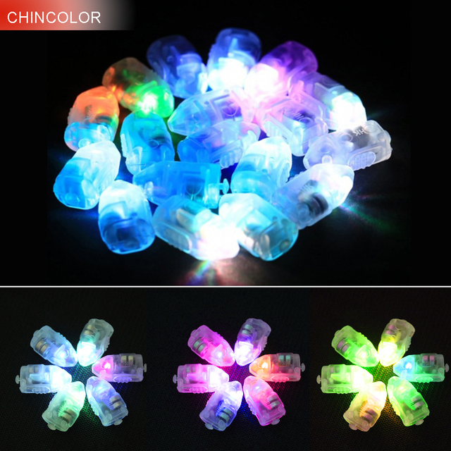 50 pcs Vacances lumi¨res Led Ballons Lampes Lumi¨res DIY led