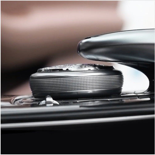 3D metal amg apple tree Center Console Multimedia Knob Decorative Stickers cover for Mercedes Benz gle