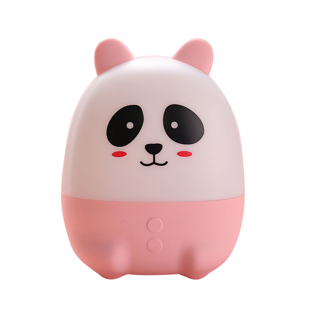 2020 Lovely Cute Panda Night Light Fragrance Lamp Bedroom Decor Mini Led Lamp Bulb Night Lamp Lamps Lampen Room Decor Светильник