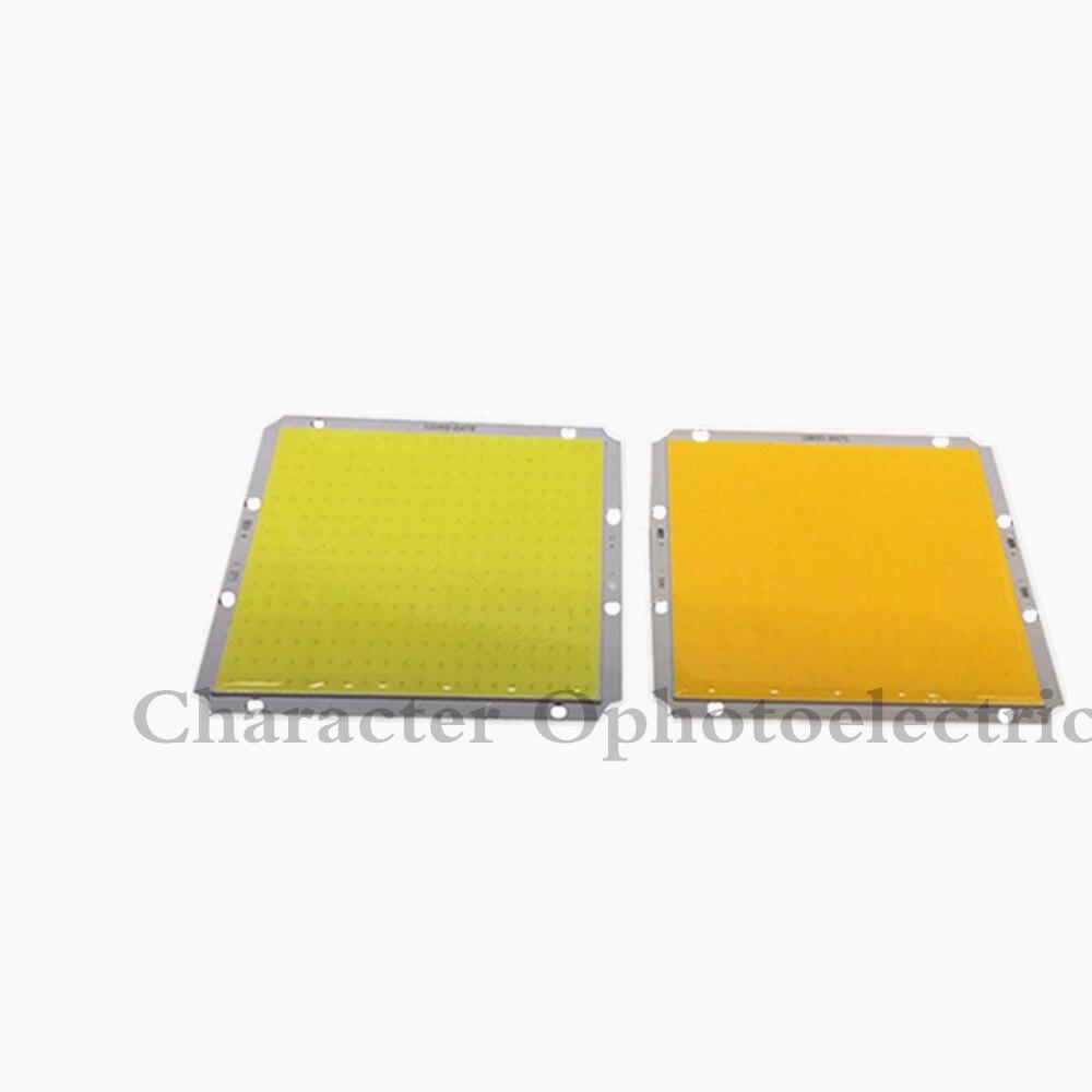 2 pcs 100x95mm Ultra Bright Rectangle Square 50W LED COB Light Matrix DC 12V 14V 3000K 6500K Warm Cold White 100mm DIY Car Lamp