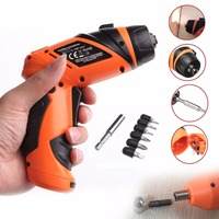 6V Portable Screwdriver Electric Drill Battery Operated Cordless Wireless Screw