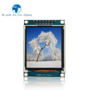 TZT 1.77 inch TFT LCD screen 128*160 1.77 TFTSPI TFT color screen module serial port module(China)