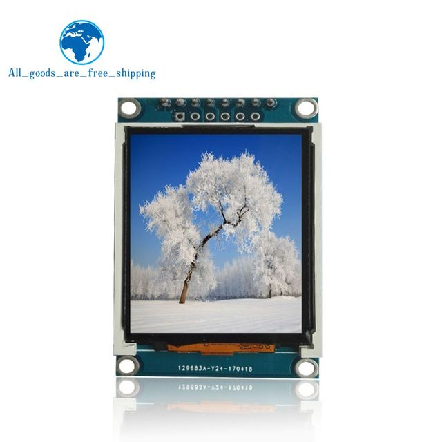 TZT 1.77 inch TFT LCD screen  128*160 1.77 TFTSPI TFT color screen module serial port module