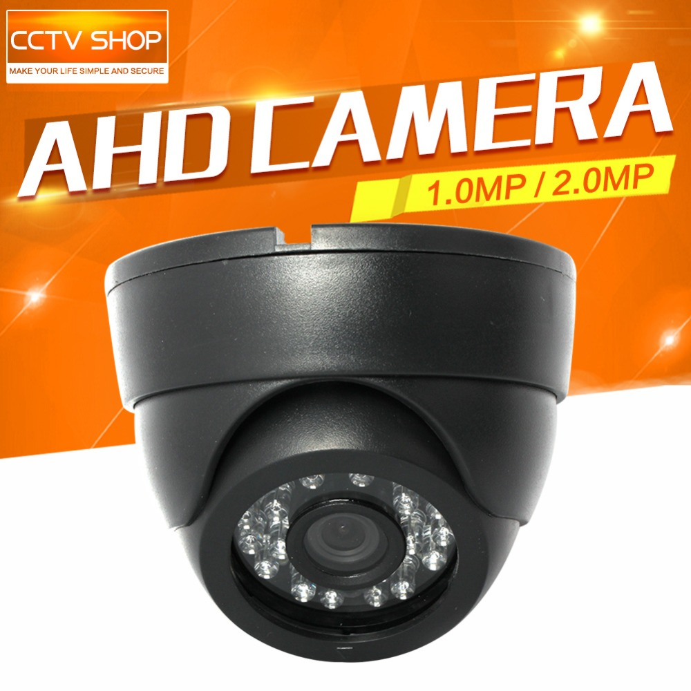 HD 720P 1080P CCTV AHD Camera 1MP 2MP Security Surveillance Camera CMOS 2000TVL 3.6mm IR 20M Night Vision Dome Cam For AHD DVR mdc3100lt b1 super night vison king exclusive 1 2 cmos mdc cctv camera with mscg glass original mdc camera without bracket