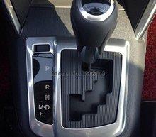 Автомобильный Стайлинг панели переключения передач отделка интерьерная