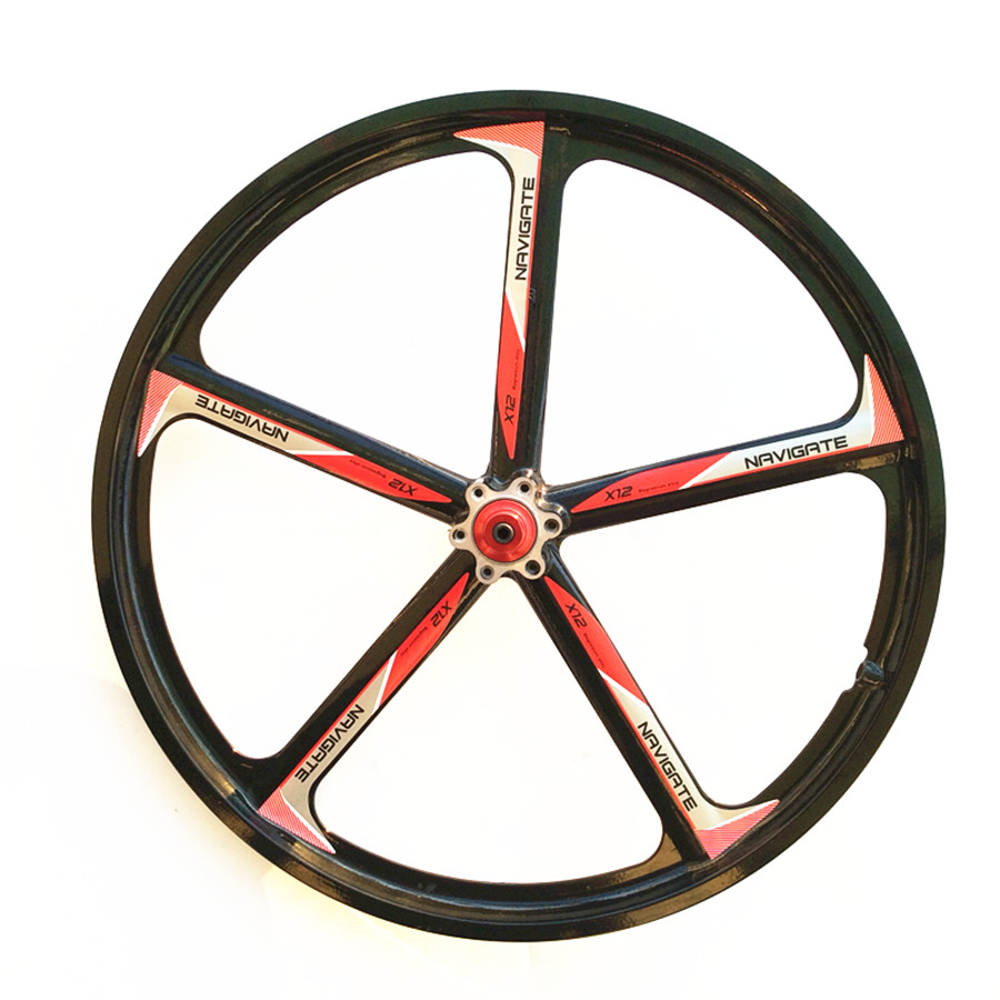 1PCS Magnesium Alloy Bicycle Wheel 20 Mountain Bike 20 Folding Car Suitable for disc brakes Suitable for 6,7 and 8,9,10 speed mountain bike four perlin disc hubs 32 holes high quality lightweight flexible rotation bicycle hubs bzh002