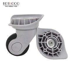 BDTHOOO استبدال عجلات الأمتعة للحقائب إصلاح اليد سبينر عجلات كراسي أجزاء عربة استبدال المطاط A18-JYL