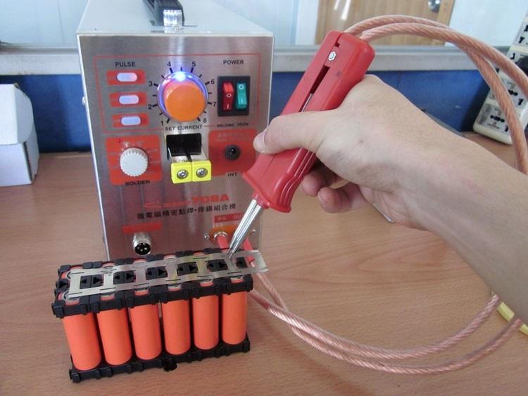 New 1 9kw Battery Spot Welder Welding Machine For Notebook Mobile Phone 18650 16340 14500 Battery Pack 110v 220v Spot Welder Welding Machine Battery Spotbattery Spot Welder Aliexpress