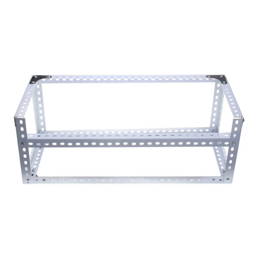 1PC Durable DIY Installing Aluminum Steel 6 GPU Mining Miner Rig Case Open Air Frame Suitable for ETH BTC Ethereum hot sale steel coin open air miner mining frame rig case up to 6 gpu btc ltc eth ethereum em88