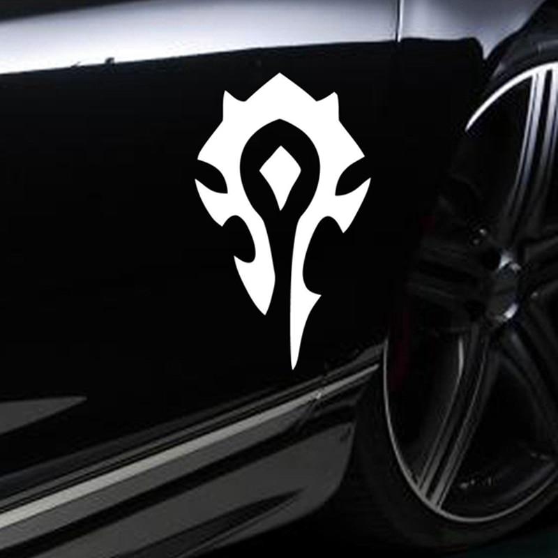 HORDE wow World of Warcraft game decal STICKER VINYL VEHICLE CAR WALL LAPTOP кружка world of warcraft horde logo