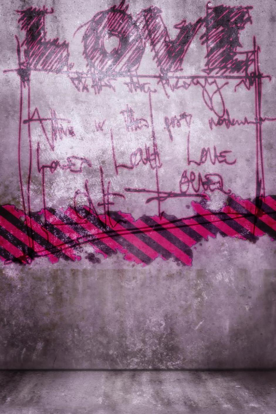 Graffiti wall vinyl - 200cm 150cm Photography Background Love Graffiti Wall Thick Cloth Backdrop Valentine S Day Zj China