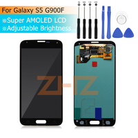 For Samsung Galaxy S5 G900F LCD Display Screen Touch Digitizer Assembly for Samsung Galaxy S5 G900M G900I G900M LCD Display
