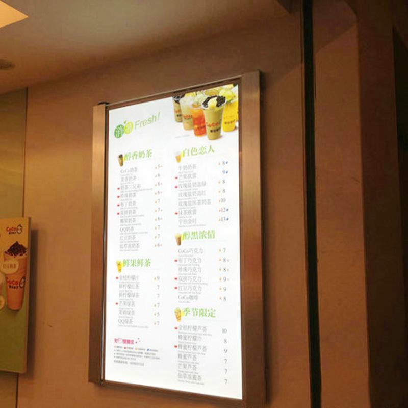 restaurant LED menu board signs
