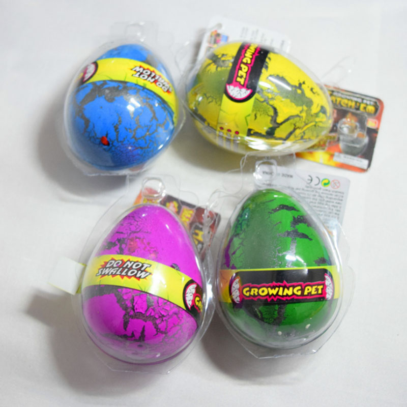 Baby Large Size Water Hatching Inflation <font><b>Dinosaur</b></font> <font><b>Egg</b></font> Gags Practical Jokes Novelty <font><b>Toys</b></font> Cracks Grow <font><b>Egg</b></font> Educational <font><b>Toys</b></font> P15 image