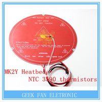 RepRap 3D Printer Parts PCB MK2Y Heatbed Cable NTC Thermistors With DuPont Head Aluminum Heated Bed