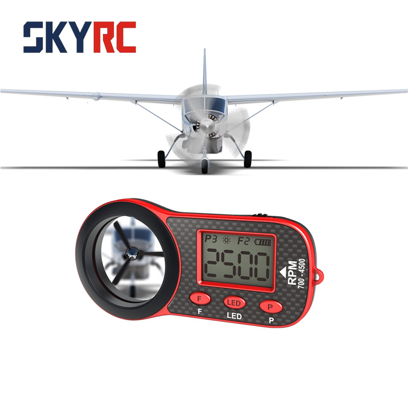 SkyRC Helicopter Optical Tachometer for RC FPV drones Helicopter Multicopter Fixed Wing Screw Speed Frequency RC