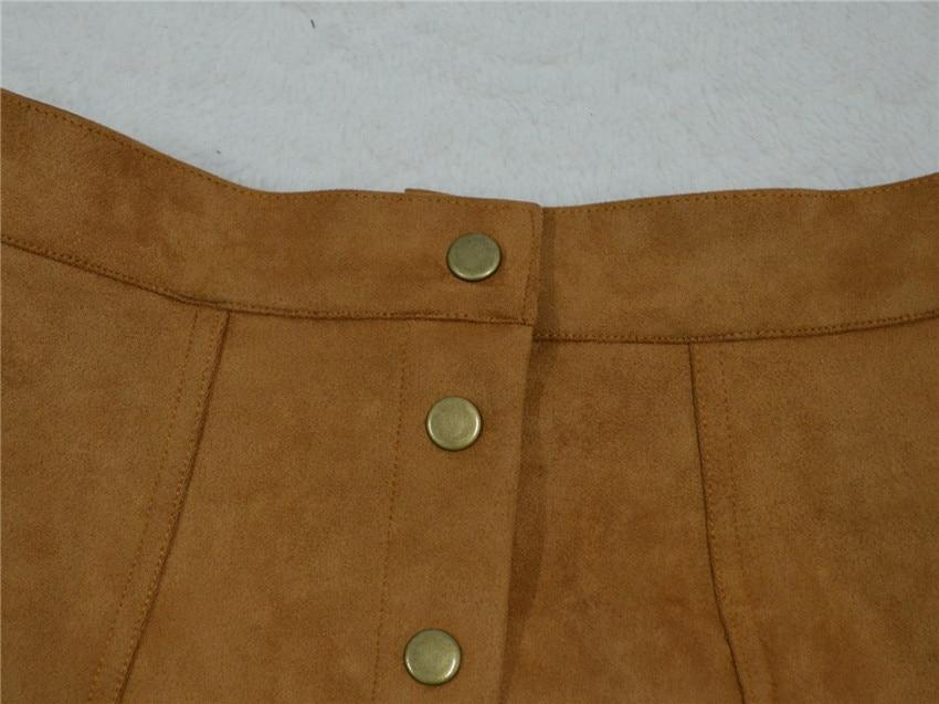 HTB1wK uPpXXXXXoaXXXq6xXFXXX3 - Spring Button Suede Leather Skirts JKP058