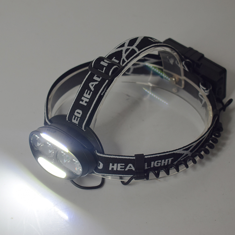 Rechargeable Headlight 18650 USB 9