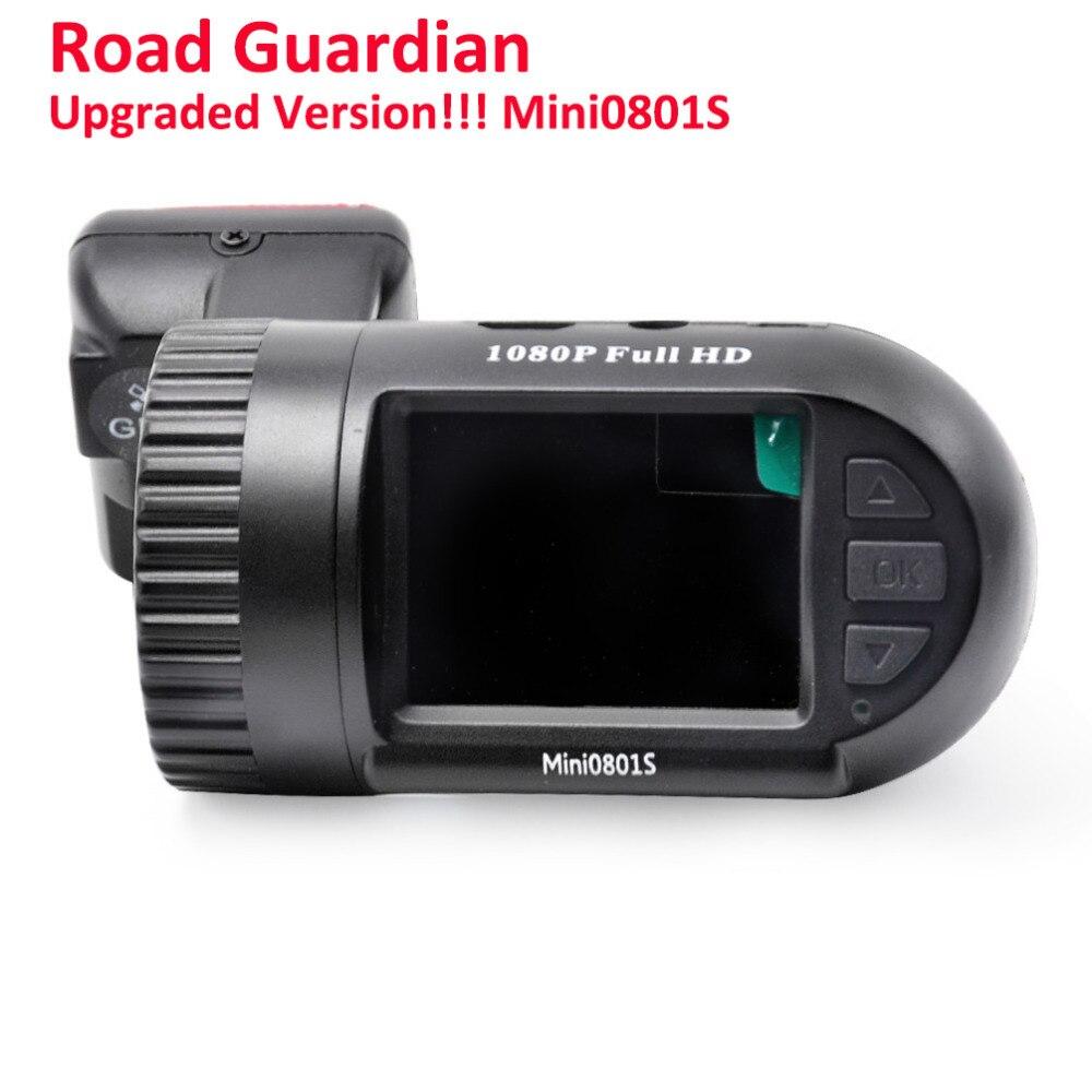 imágenes para Mini0801S Actualización Mini0801 Coche DashCam DVR Cámara Mini 0801 S Modo de Condensador + GPS + 24 hParking + Baja Tensión exceso de temperatura de Proteger