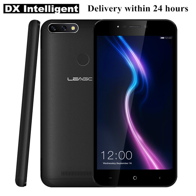 "Free Gift LEAGOO Power 2 Pro Mobile Phone 5.2""HD MT6739 Quad Core Android 8.1 2GB RAM 16GB ROM 8MP Dual Back Camera Fingerprint"