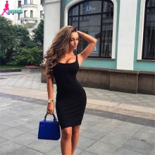 Thick Skinny Sleeveless Sexy Sheath Party